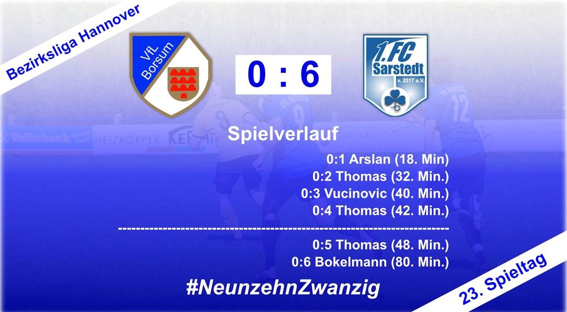 Blamable Niederlage gegen Sarstedt