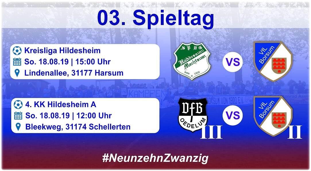 3. Spieltag - Derby in Machstum