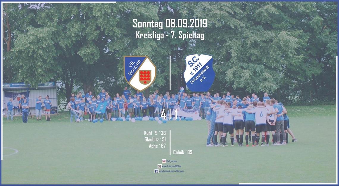 Heimsieg gegen den SC Drispenstedt