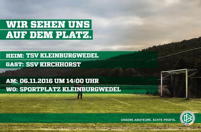 Der SSV Kirchhorst in Kleinburgwedel