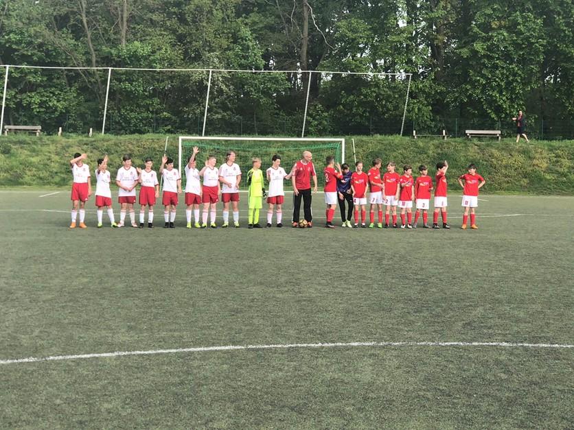 D1 - 6. Spiel Meisterrunde - 1. Unentschieden