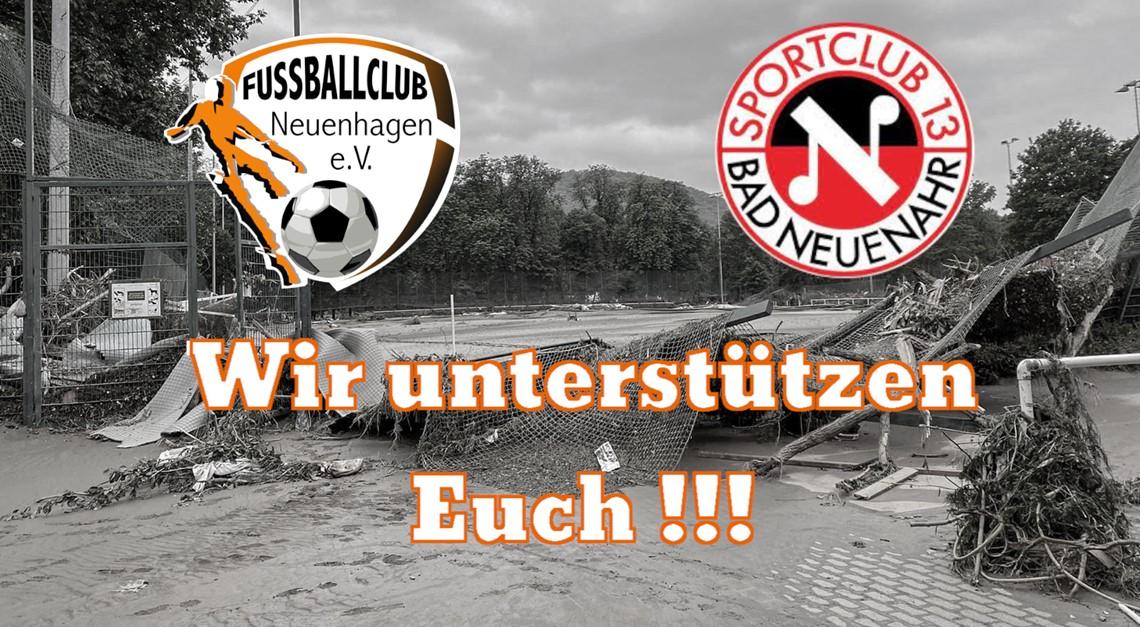 Wir unterstützen den SC 13 Bad Neuenahr e.V.