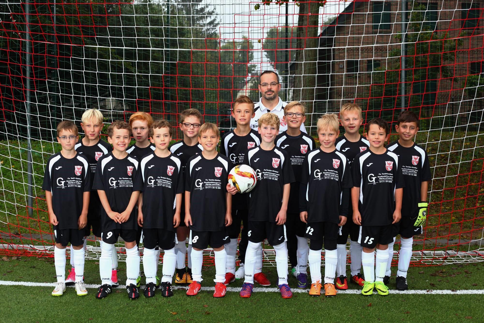 Mannschaftsfoto Fussballclub Neuenhagen 4