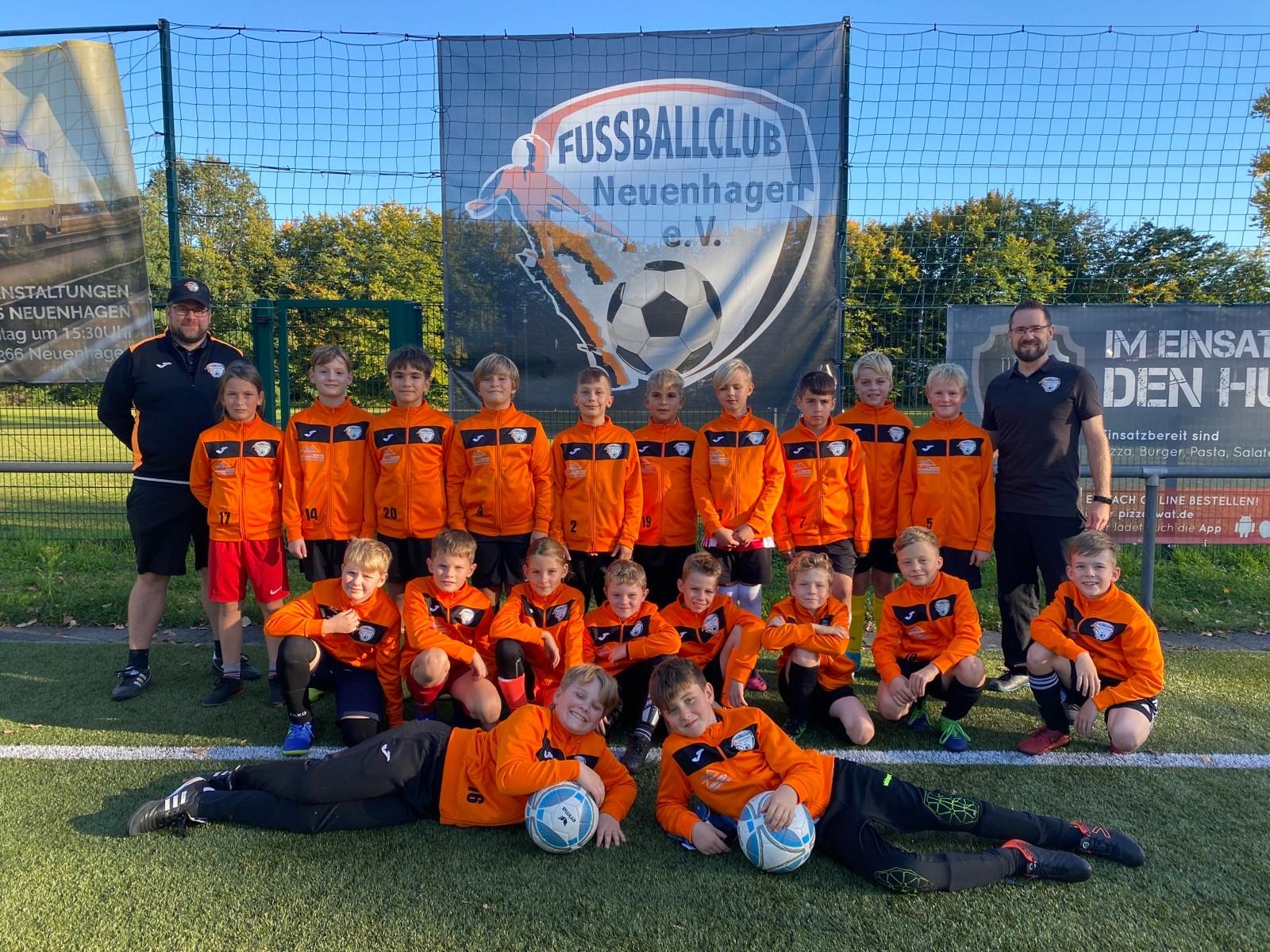 Mannschaftsfoto Fussballclub Neuenhagen 3