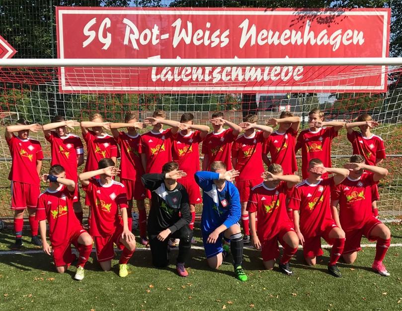 Derbysieger 1:0 , B Junioren weiter Tabellenführer
