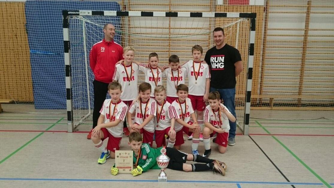 E2 gewinnt Wintercup vom Fussballclub