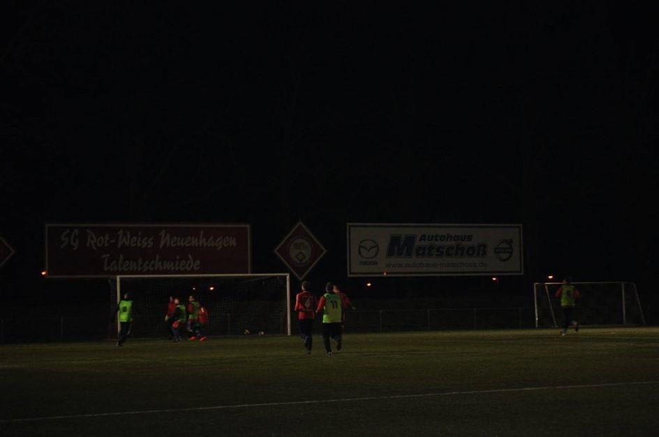 Ü35: Unentschieden im Derby