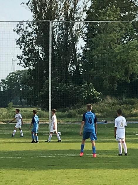 Testspielsieg gegen Schwanebeck's D-Junioren