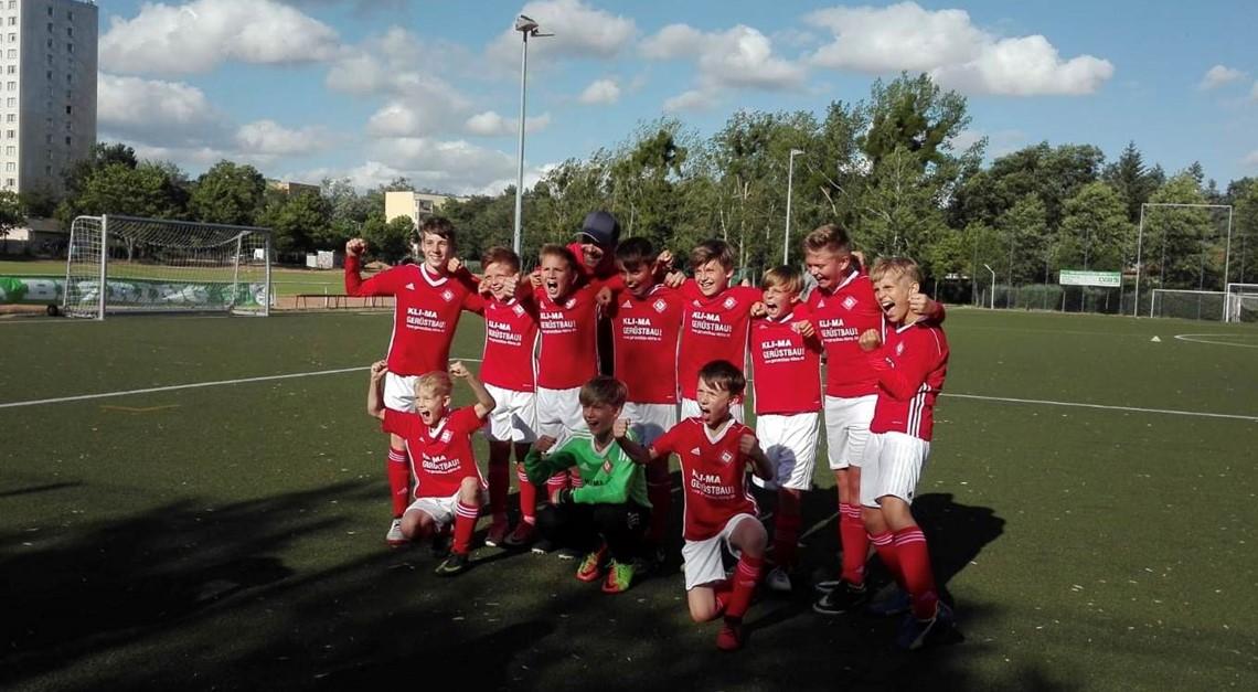 E1: Sieg im Relegationsspiel um den Klassenerhalt