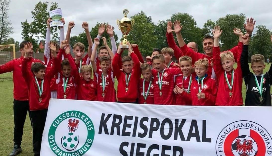 D1-Talentekicker gewinnen den Kreispokal