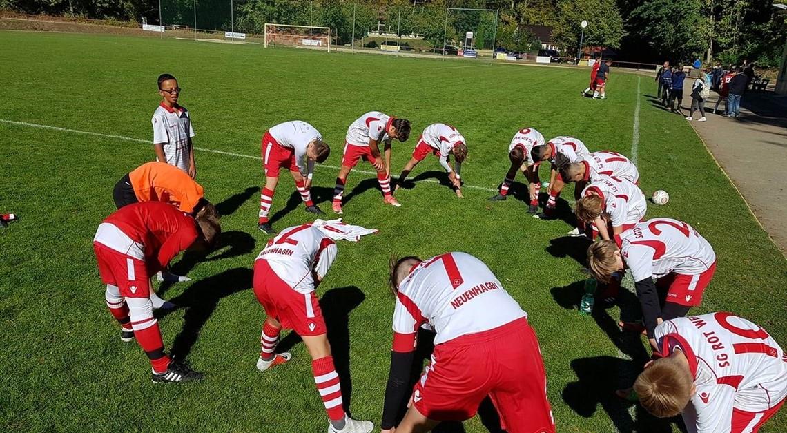 """C1: 3:3 """"auswärts"""" beim Fußballclub Neuenhagen"""