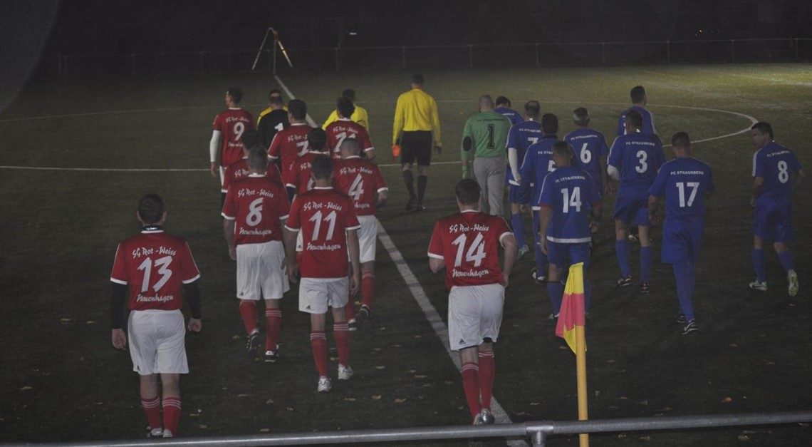 Ü35 ohne Fortune gegen den FC Strausberg