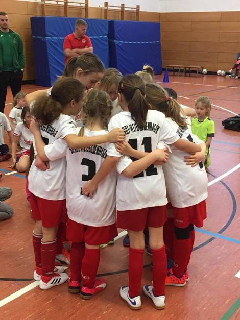 F-Juniorinnen: 2. Turniersieg eingetütet