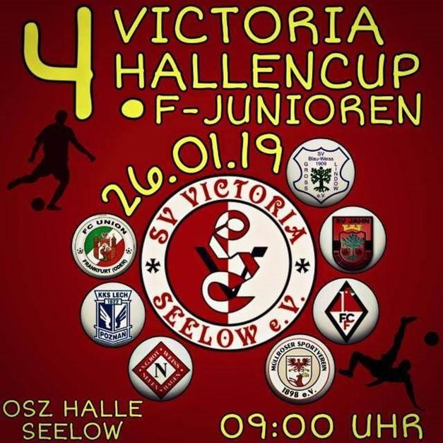 F-Junioren zeigen tollen Hallenkick in Seelow
