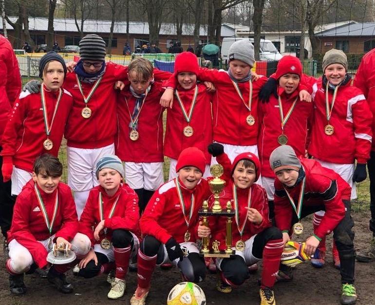 Krönender Mannschaftsausflug beim Störitzland Cup