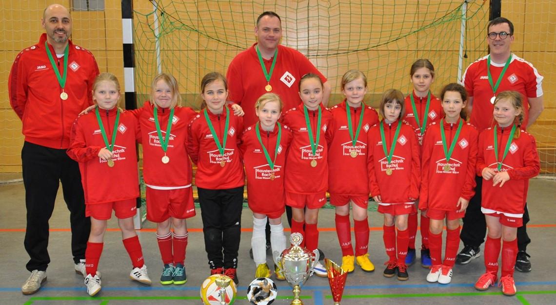 F-Juniorinnen: Starke Leistung in Friedrichshagen