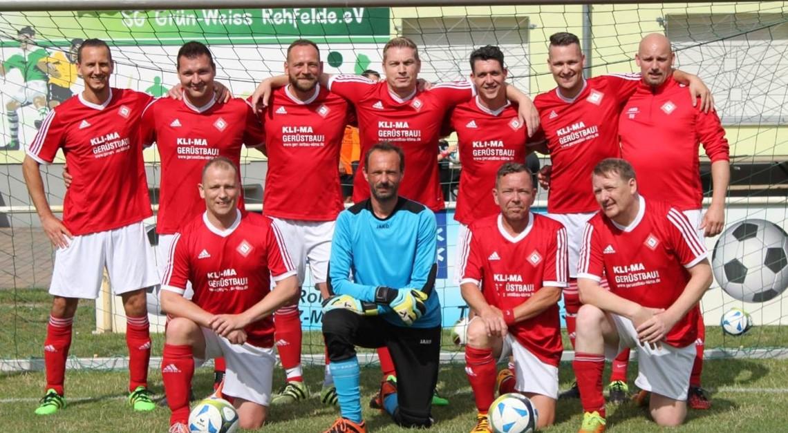 Ü35 mit Platz 4 bei Rehfelder FBS-Cup