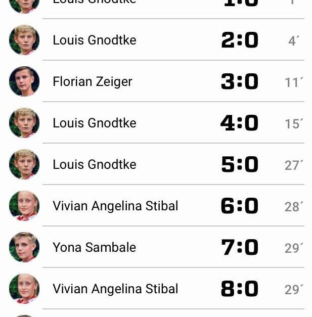 Testspiel gegen Friedrichshagener SV