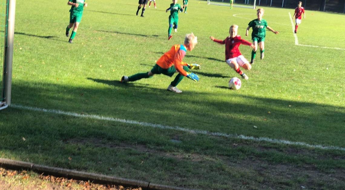E1: Arbeitssieg gegen SV Wacker Ströbitz