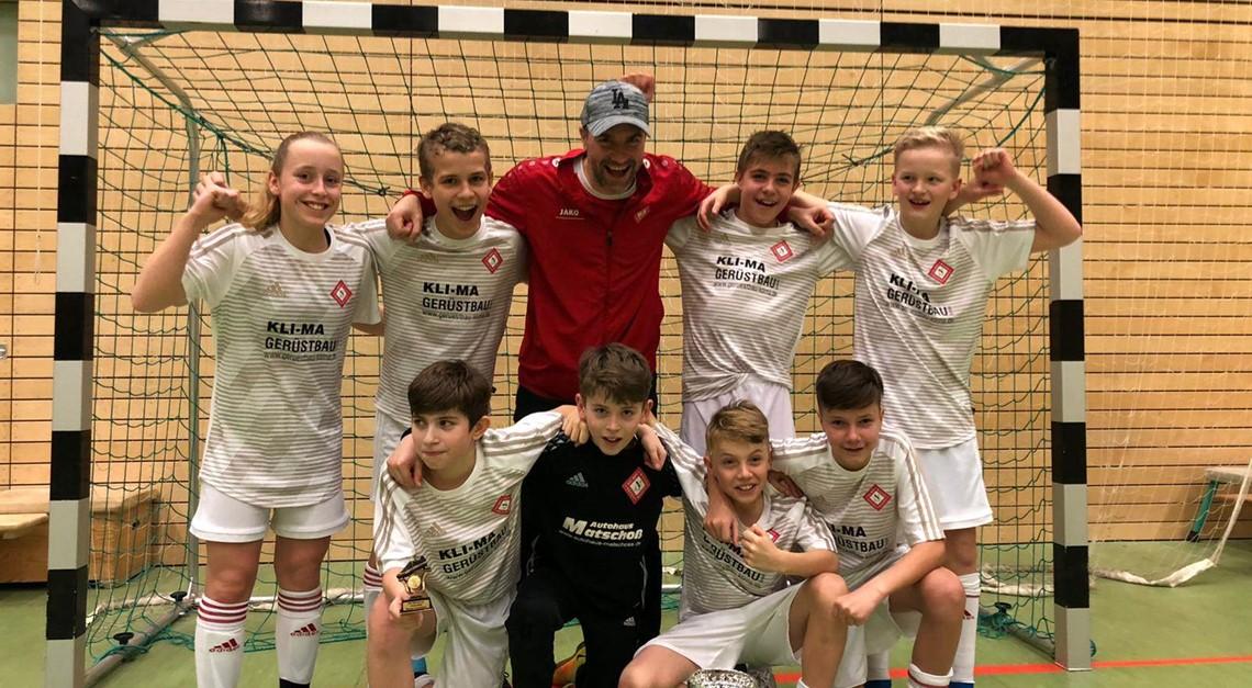 D1: Turniersieg beim Friedrichshagener SV