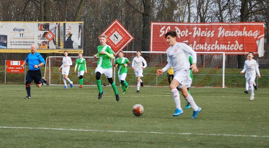 Unterhaltsames Testspiel gg. Grün-Weiß Ahrensfelde