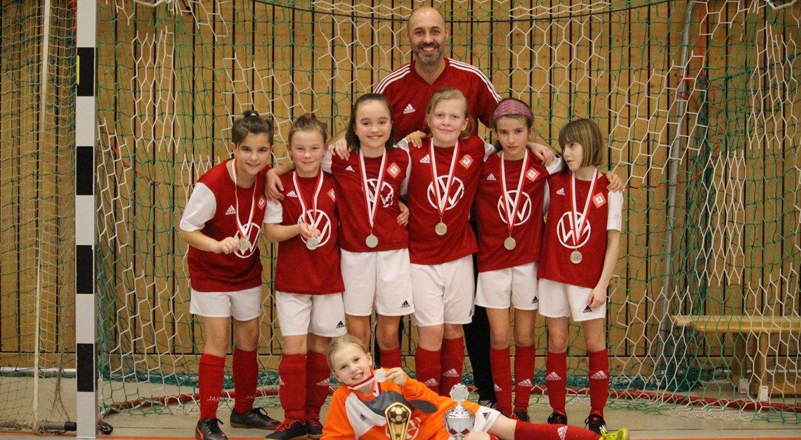 E♀: Nachmittags Platz 2 beim Miersdorfer Girls-Cup