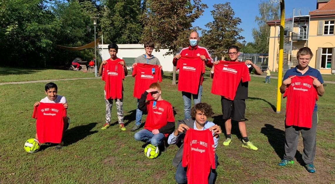 Rot-Weißes Engagement für benachteiligte Kinder