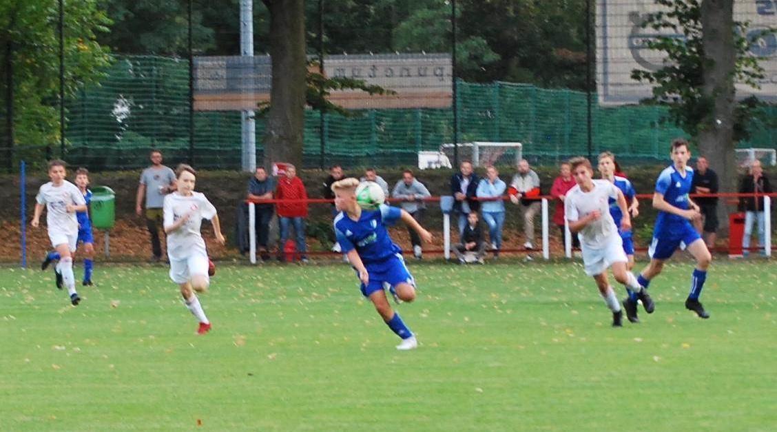 Pokalspiel gegen den FC Strausberg