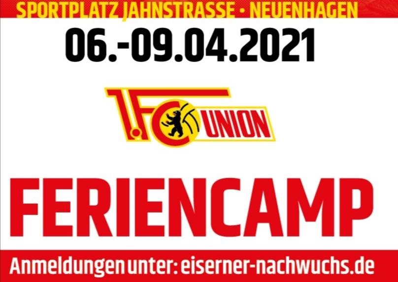 Fußballcamp für April geplant