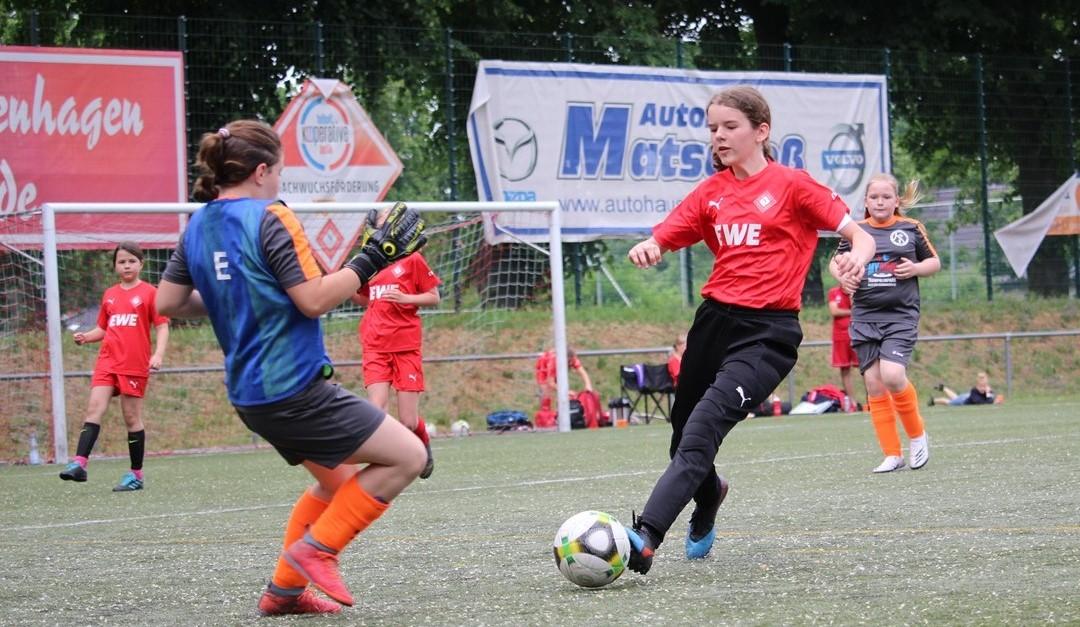 E♀:7:1 Freundschaftsspielsieg gegen den FFC Berlin