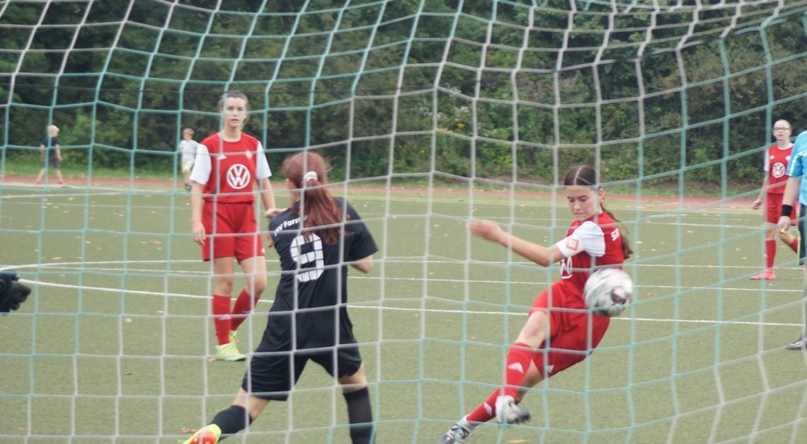 Knappe Niederlage in Borgsdorf – C4 Juniorinnen