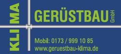 Sponsor - KLIMA Gerüstbau GmbH