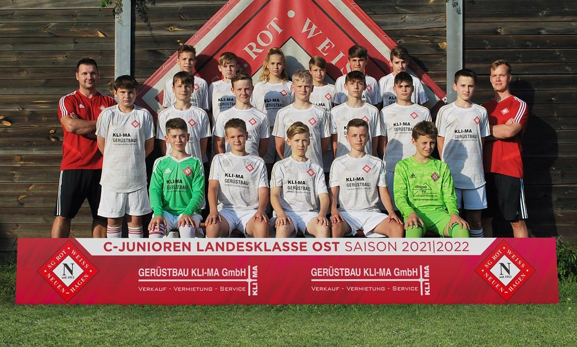 Mannschaftsfoto SG Rot-Weiss Neuenhagen