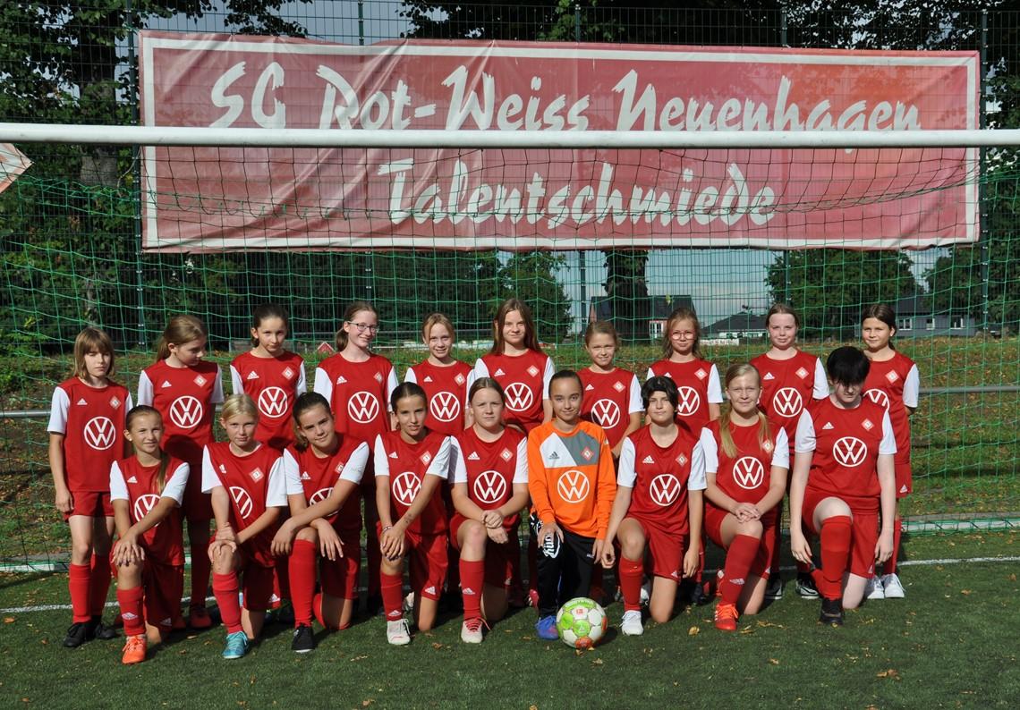 Mannschaftsfoto SG Rot-Weiss Neuenhagen 2