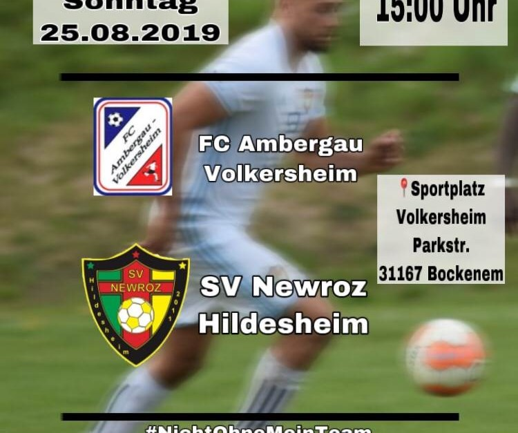 Gastspiel beim FC Ambergau-Volkersheim
