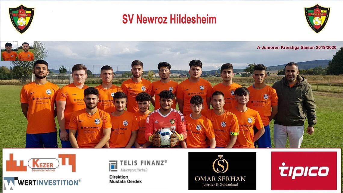 Mannschaftsfoto SV Newroz