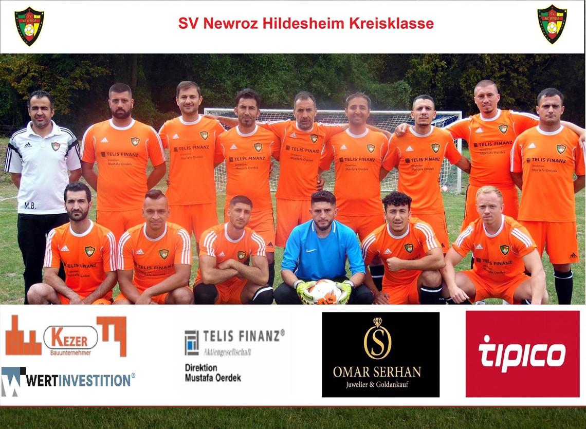 Mannschaftsfoto SV Newroz 2