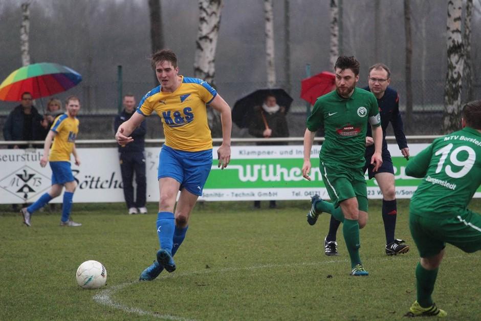 TuS FC siegt 4:0 beim MTV Borstel-Sangenstedt