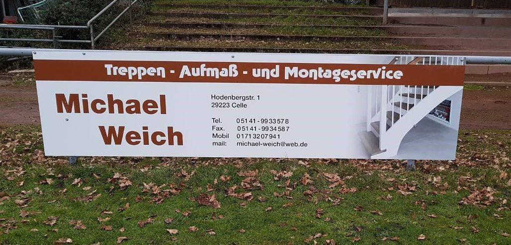 Hoch hinaus mit Treppen von Michael Weich