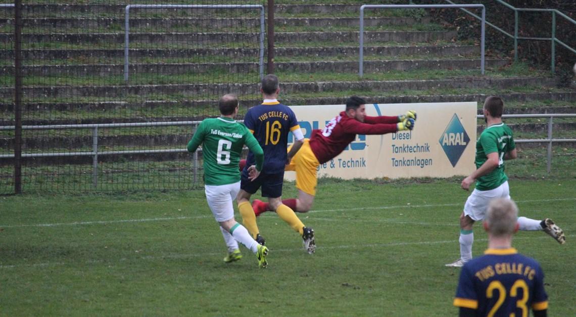 TuS FC unterliegt TuS Eversen/Sülze