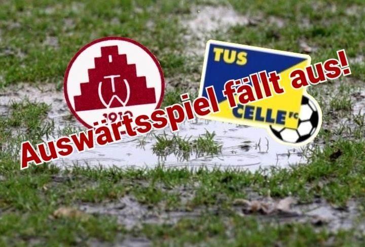 Spiel in Wienhausen abgesagt
