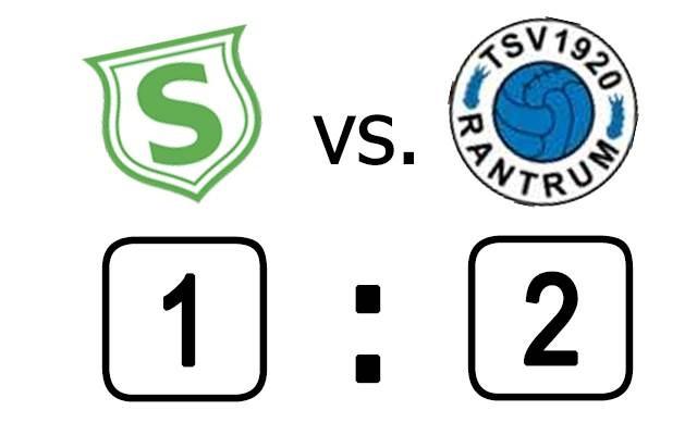 1:2 im Heimspiel gegen Rantrum II.