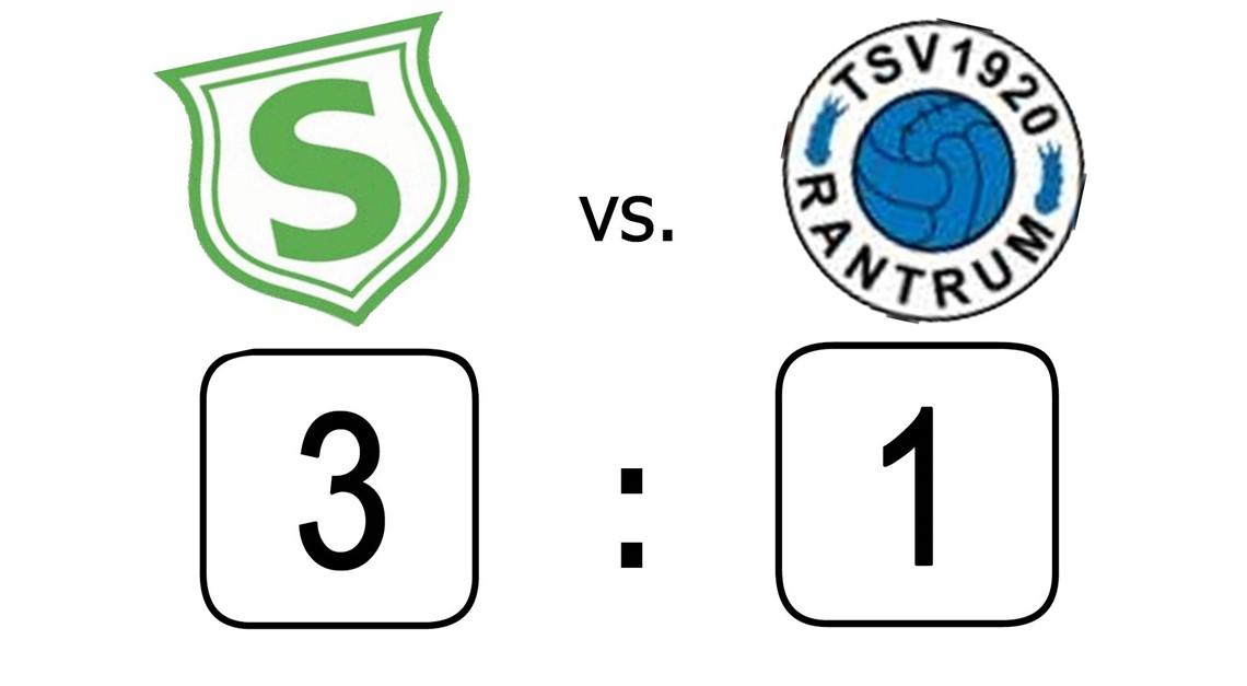3:1 gegen den TSV Rantrum II