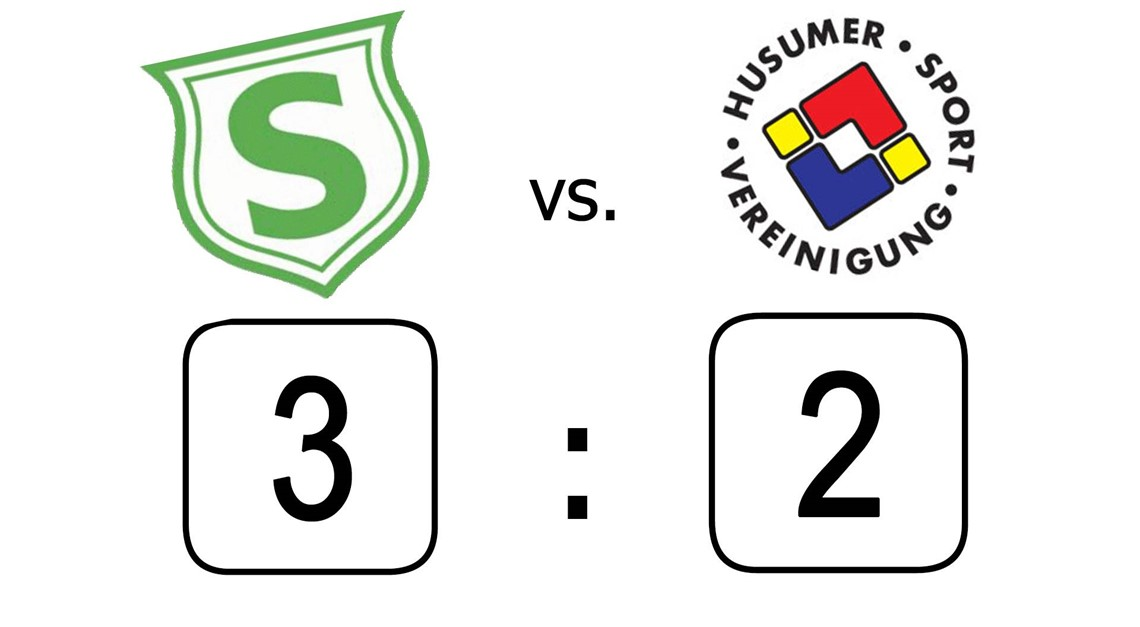 3:2 gegen die Husumer SV II