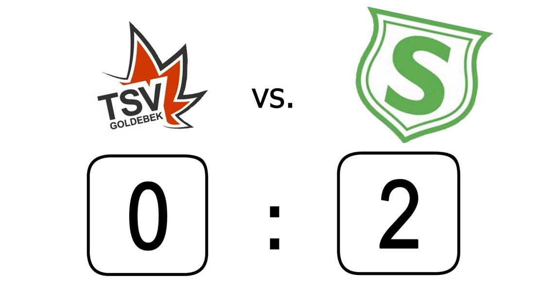 2:0 Sieg beim TSV Goldebek