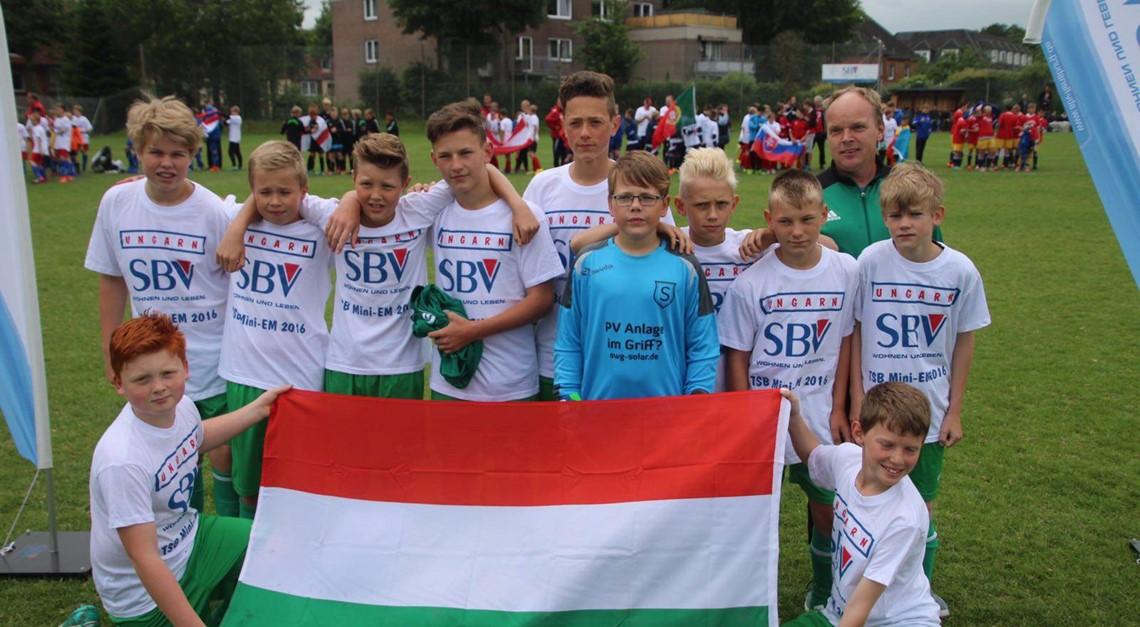 D-Jugend bei Mini EM vom TSB Flensburg aktiv