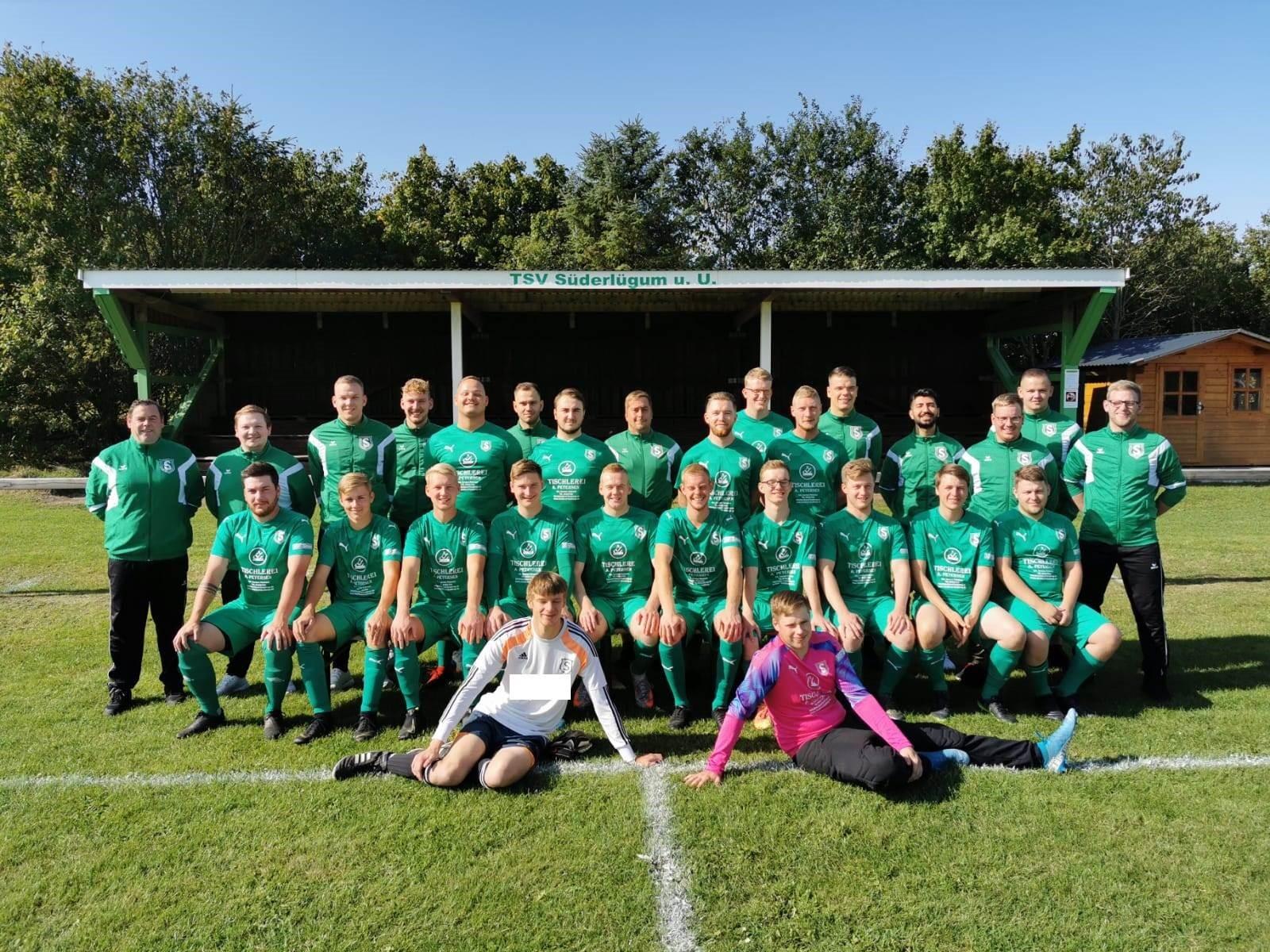 Mannschaftsfoto TSV Süderlügum 2
