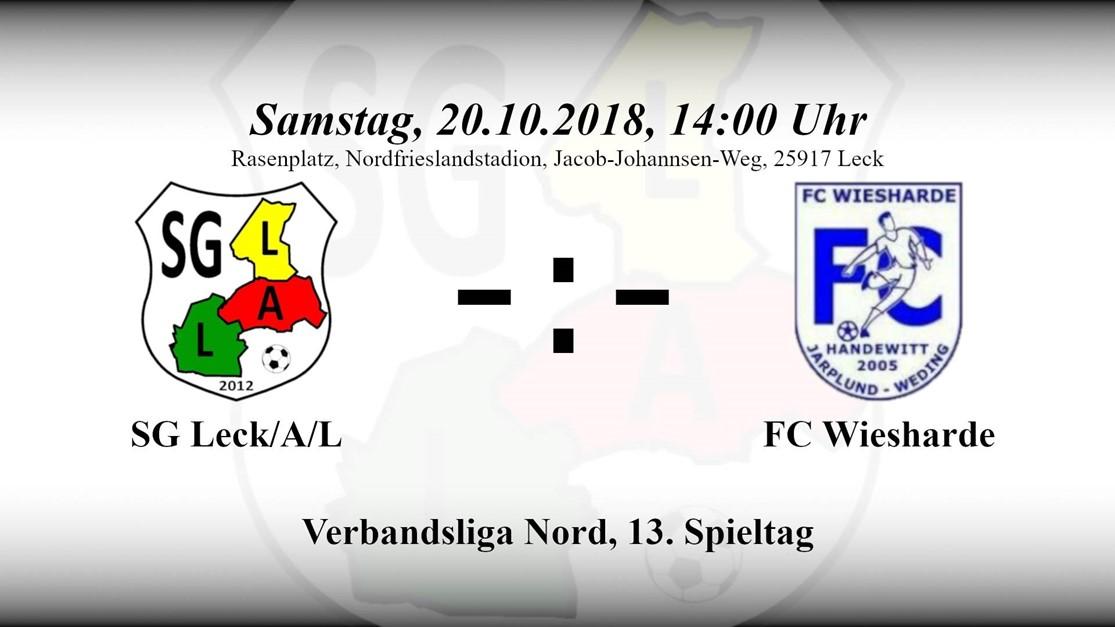 Heimspiel gegen FC Wiesharde