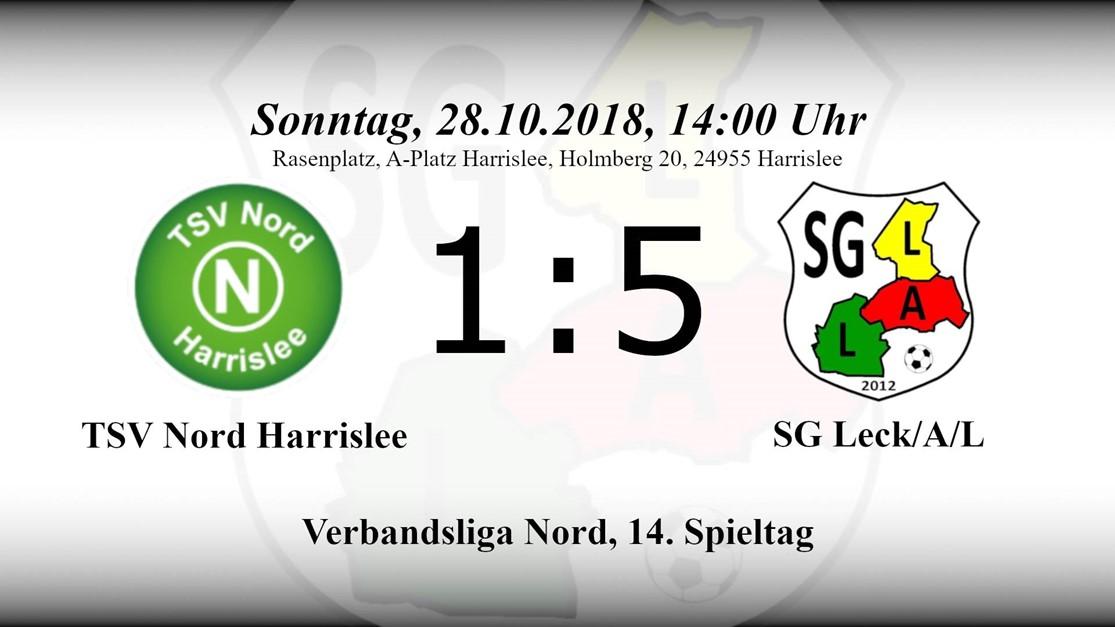 Hochverdienter 5:1 Sieg beim TSV Nord Harrislee