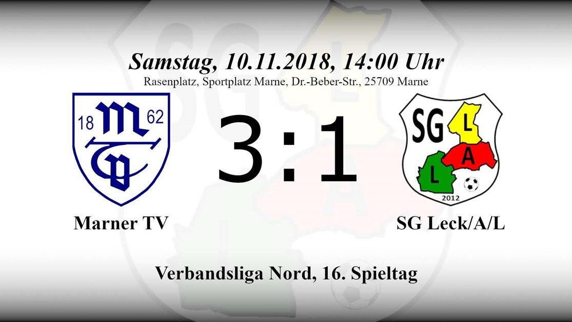 Unglückliche 1:3 Niederlage beim Marner TV